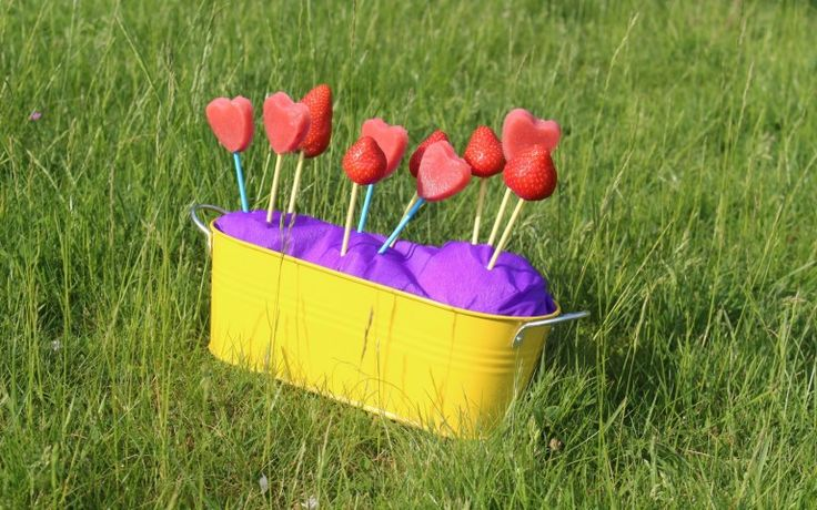 Even testen deze geestige fruitlolly's!!!  Fun en creativiteit alom!