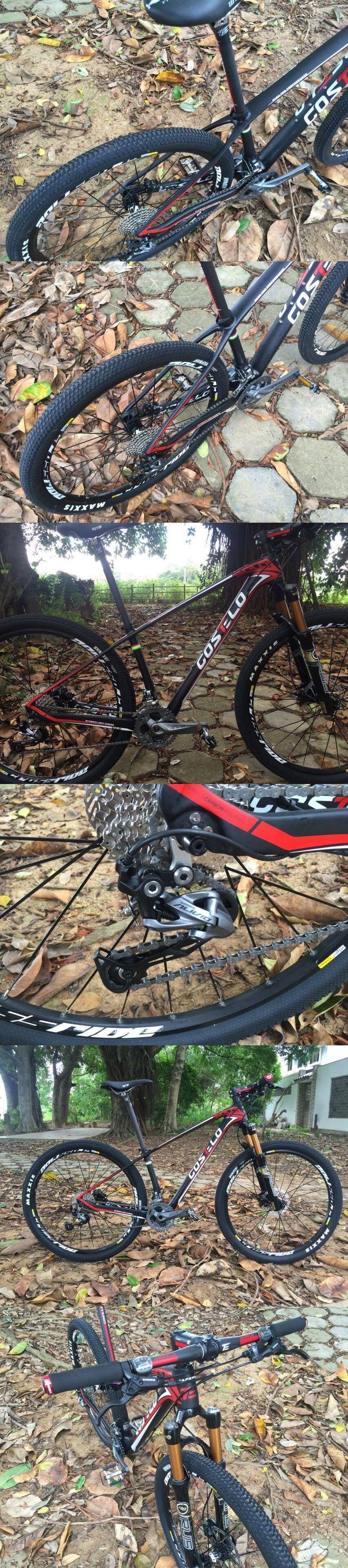 costelo bicycle MTB Frame carbon  Bicylce Mountain Bike Ultralight 27.5 MTB Frame M4000 groups wheels saddle bar tire