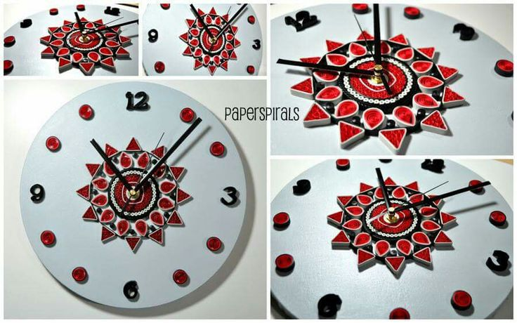 31 best Quilled Clocks images on Pinterest   Quilling ...