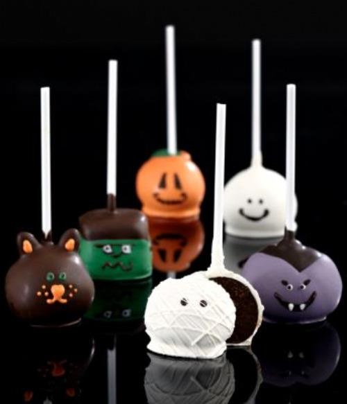Halloween cake ball | Halloween | Pinterest