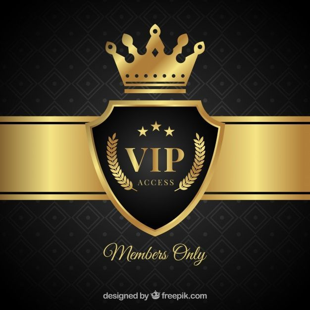 Read Shop Explore Vip Logo Banner Template Design Vip Card