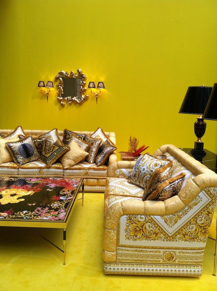 Versace design now pinterest versace - Versace living room design ...