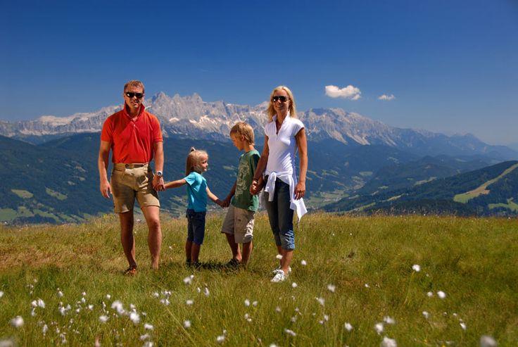 Wandern mit Kindern in Flachau