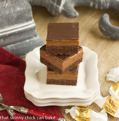 Milky Way Brownies @That Skinny Chick Can Bake!!!