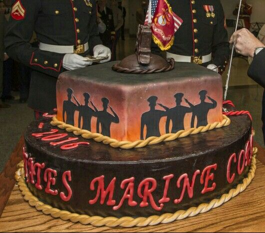 2016 Pentagon cake for the 241st Marine Corps Birthday