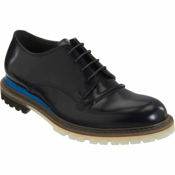 Lanvin Butted Seam Blucher at Barneys.com