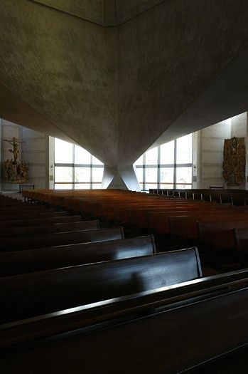 Pier - Luigi nervi, st. Marys. Been there and it was off the hoook