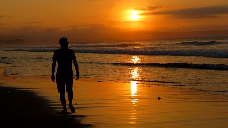 Sunset in The Vega Beach