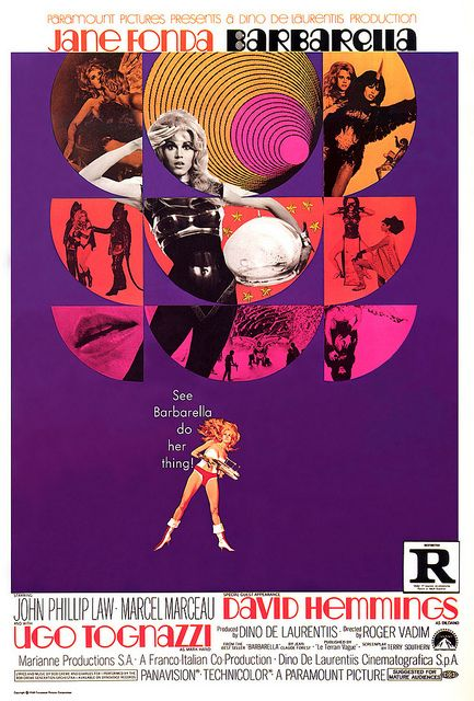 Barbarella, my grandfather loved her movie even if he didn't agree with her politics