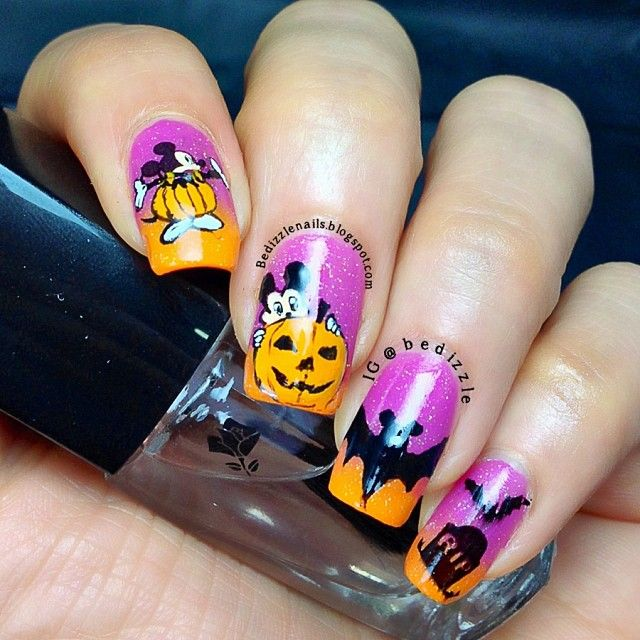 74 best Halloween Nail Designs images on Pinterest