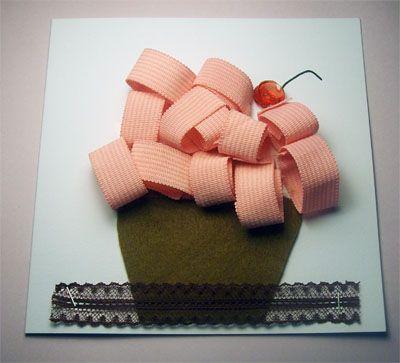 Cupcake anche su cuscino