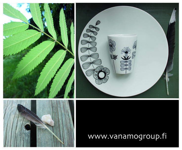 Tuo luonnon kauneus ja herkkyys pöytääsi Vanamo Group Oy:n laadukkailla vitroposliineilla. #habitare2015 #design #sisustus #messut #helsinki #messukeskus