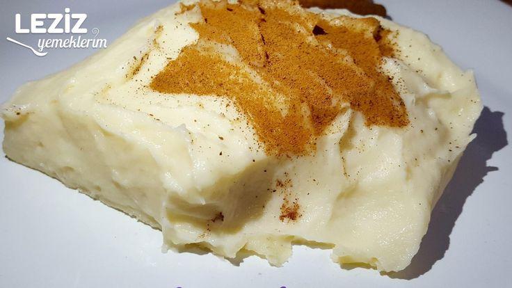 Orjinal Pastane Usulü Tavuk Göğsü Tatlısı (Yok Böyle Bir Lezzet)