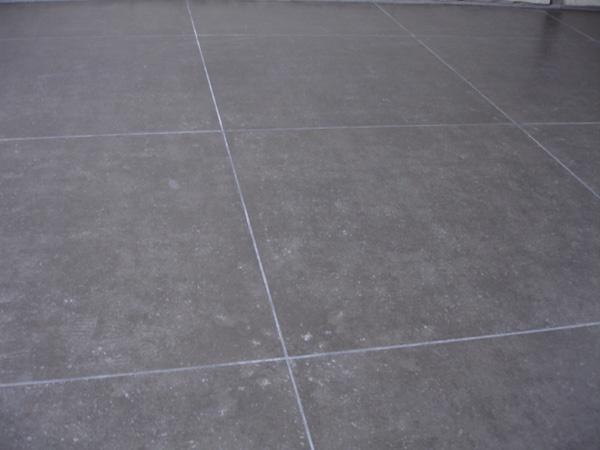 Cement keuken tegels - Tegels taupe ...