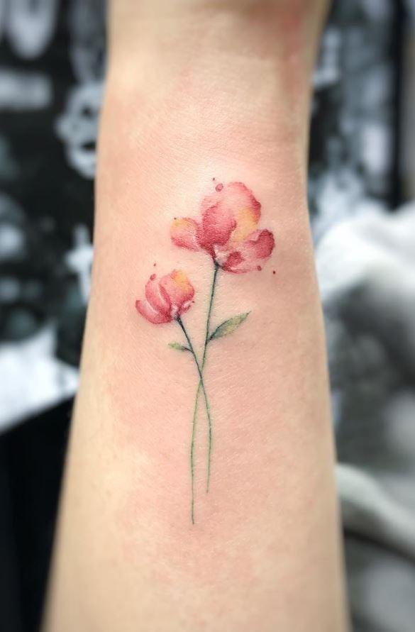 Cute Small Flower Tattoo Tattoo Pinterest Tattoos Small