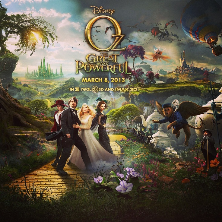 "26. something you did #marchphotoaday finally ""Oz the Great and Powerful"" #movie #love #Oz #perfectnight"
