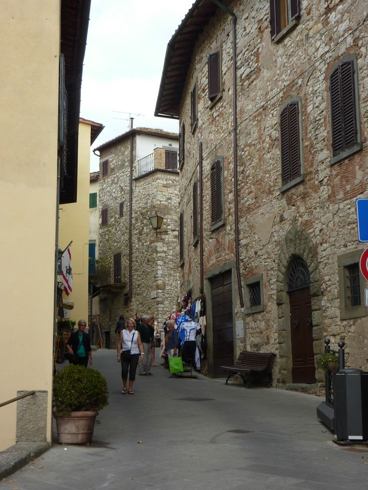 This delightful medieval town has wonderful views of the surrounding Chianti countryside and a lovely ambience.