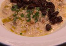 Mushroom, Walnut and Gorgonzola RIsotto...