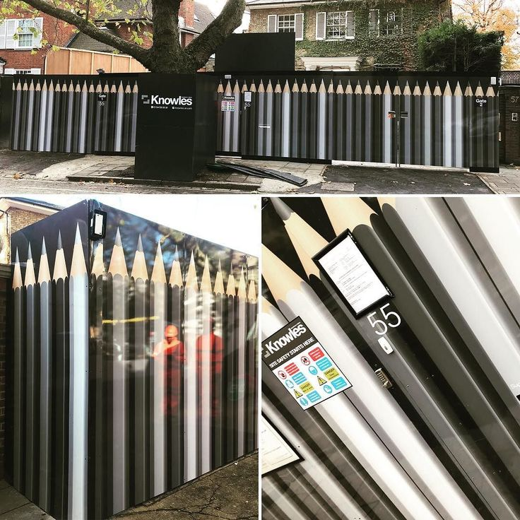 New hoarding designed manufactured and installed by 989 Design for @knowlesbasements on Avenue Road North London. #sitehoarding #signdesign #largeformat #largeformatprinting #signwriting #propertydevelopment