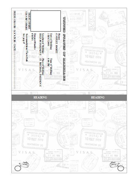 1000 ideas about Passport Template – Free Passport Template for Kids