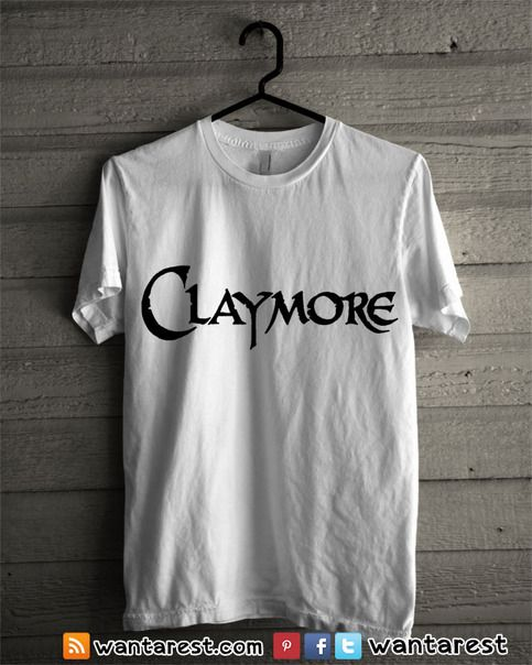 Claymore Anime t-shirts unisex Only $17 ship to worldwide, available size S to 2XL. #Claymore #Clare #Raki #Rubel #Teresa #Anime #Shirt #Otaku #Cosplay #Clothing #Tshirt