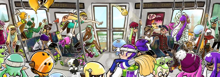 Live from Squid Research Lab — funkgamut: Inkopolis metro exposed! We found that...