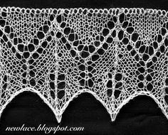 New lace - old traditions: 14. Edge lace 2
