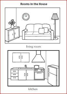 LEARNING IS FUN!: HOUSE WORKSHEETS