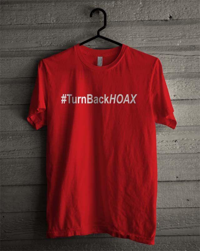 Kaos Turn Back Hoax - BikinKaosSatuan
