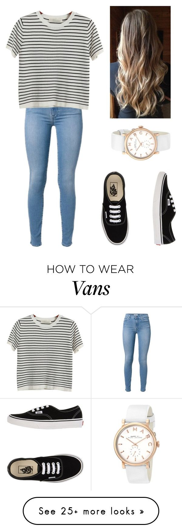 """""""❤️"""" by niall-horan-princess on Polyvore featuring Chicnova Fashion, Vans and Marc by Marc Jacobs"""