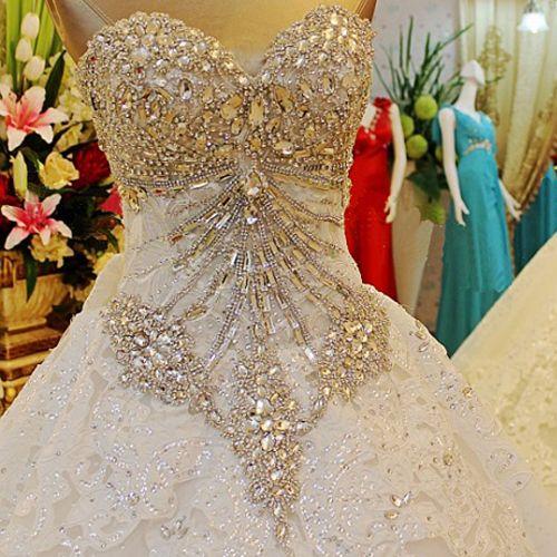 31 best Bling Wedding Dresses images on Pinterest Wedding