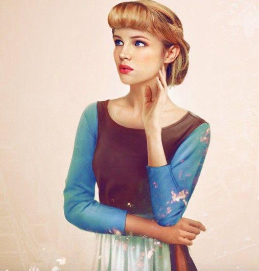Cinderella  - 11 x real life Disney Prinsessen getekend als échte vrouwen - Nieuws - Lifestyle