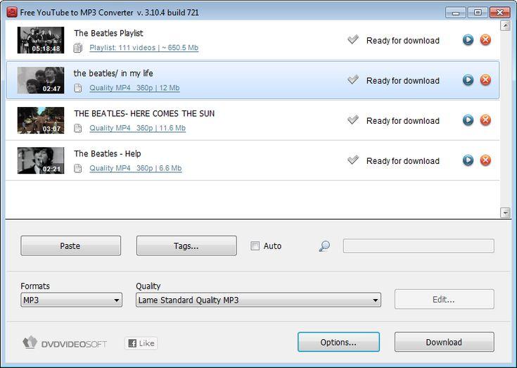free youtube downloader converter mp3