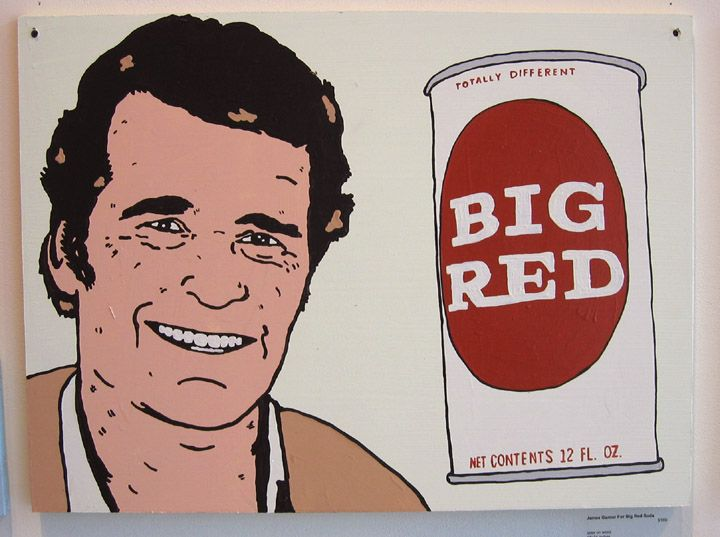 James Bumgarner was paid $ 300 in 1957 to endorse Big Red soda. A movie studio in 1958 changed his name to James Garner without his permission.