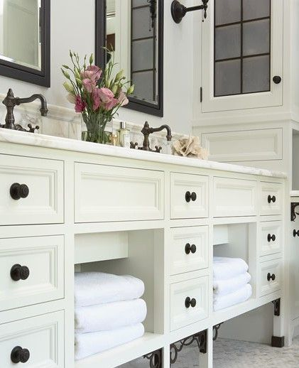 White cabinets black knobs for the home pinterest Black knobs on white cabinets