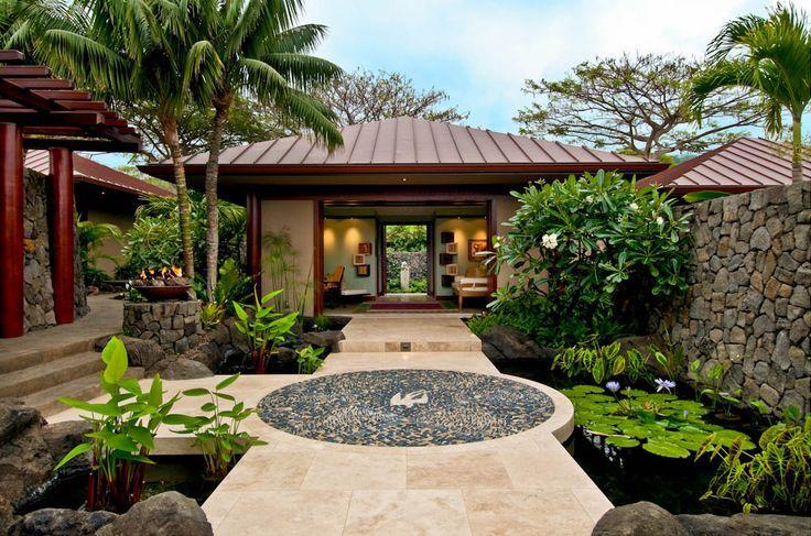 Modern Resort Entrance Landscape Architecture