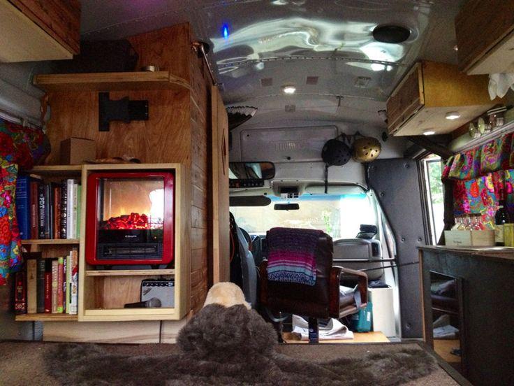 mini bus conversion (pretty spacious interior for such a small bus)