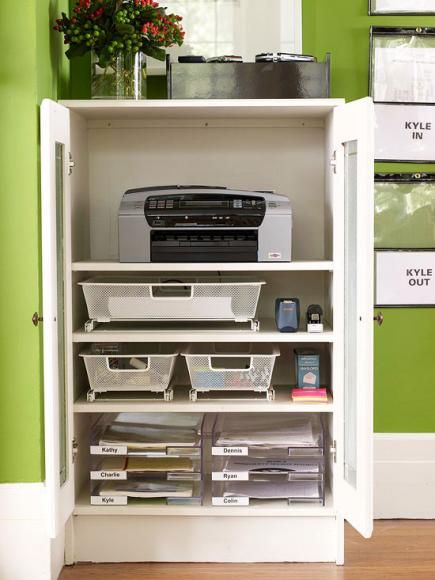 office closet shelving. 20 ways to create a home office space closet shelving