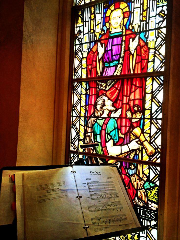 O Redeemer Divine (Cantique de Jean Racine) Trinity Choir 9/7/14