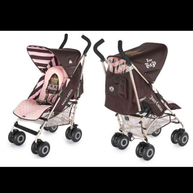 Juicy Couture Car Seat And Stroller Set