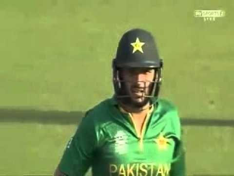 Shahid Afridi 49 runs  19 balls Pakistan Vs Bangladesh WC T20 2016
