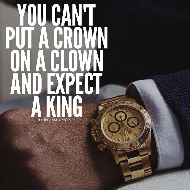 It's Kinda Of A Impossible To Do This, You Are Either Born With Ethics Or Not, Just Like A Fake Watch, It May Have The Crown Of A Rolex But It Doesn't Cost As Much As A Rolex Costs. So I Recommend You To Go And Chase You Crown Because Eventually You'll Be A King, And Trust Me, A King Doesn't Want To Be Ruled By A Clown  Tag Your Friends  Courtesy Of @Secrets2Success