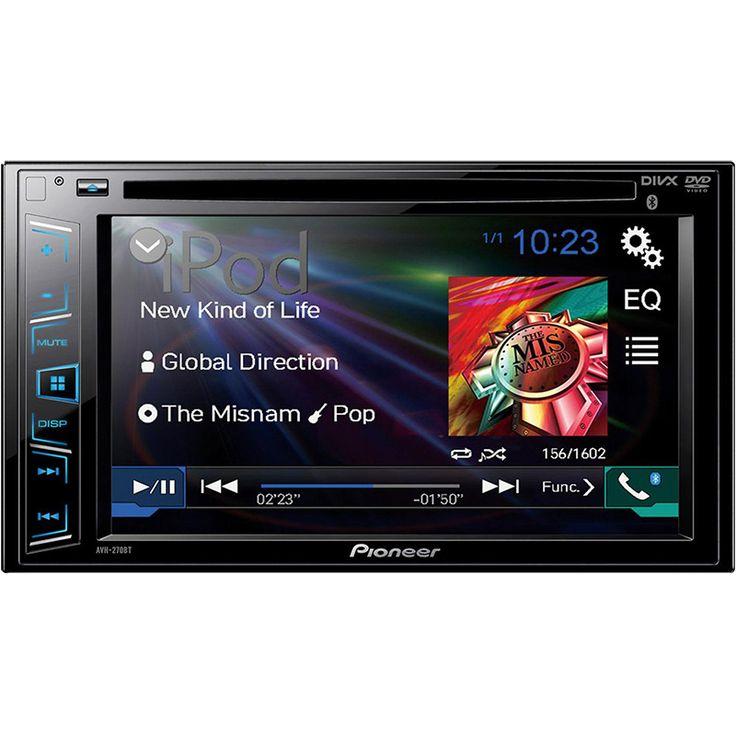 Pantalla Pioneer AVH-270BT 6.2 pulgadas USB/Bluetooth/AUX compatible con iPod