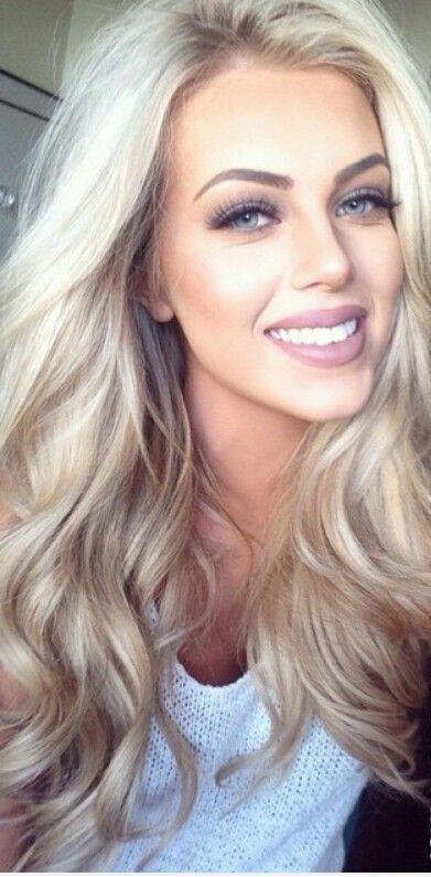 Blonde with brown underneath