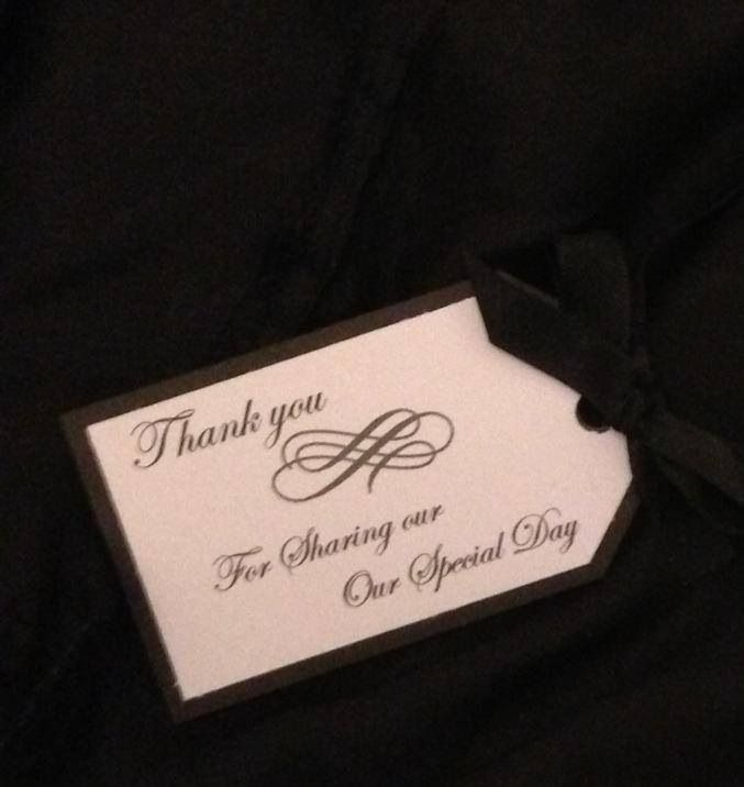 Gift tags can be customised to what your needing to suit your theme x