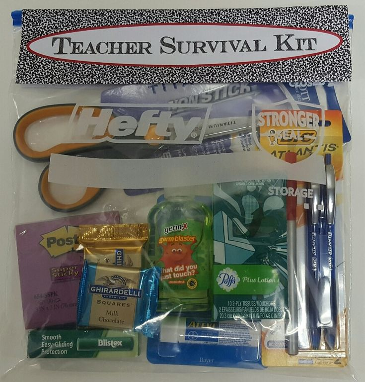 25 Best Ideas About Teacher Survival Kits On Pinterest: 43 Best School Supply Gifts Images On Pinterest