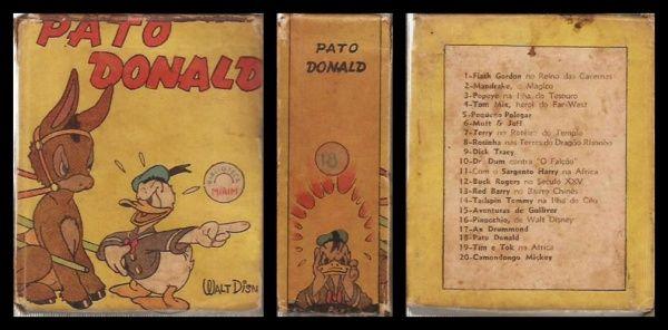 TIJOLINHO - Coleção Biblioteca Mirim: PATO DONALD. Sem ..