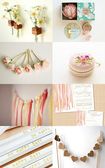 rustic wedding ideas; love the heart garland. Could do the hearts as cinnamin ornaments too- easily made and smell great!
