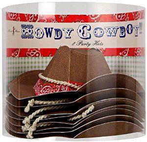 Cowboy Thema - www.confettienco.be #decoratie #verjaardag #feest #cowboy #hoeden #cowboyhoed #webshop