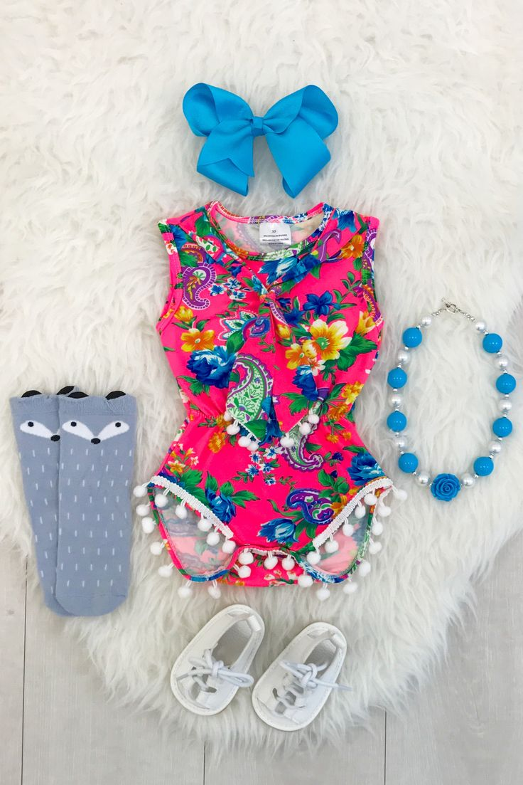89 best Rompers images on Pinterest | Baby girl fashion, Pom poms ...